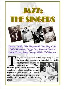 6. Jazz - the Singers