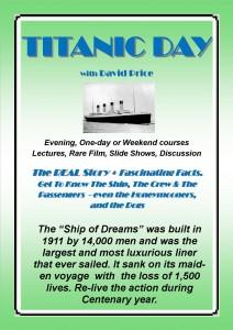 A4 Titanic advert poster jpg